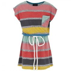 Finger In The Nose Stripe Tee Dress