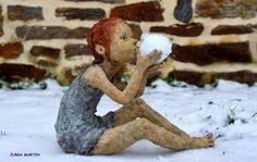 A explosão de vida e ternura nas esculturas de Jurga Martin