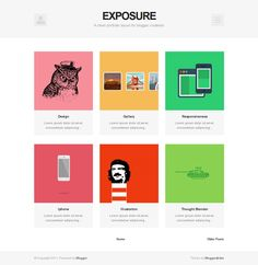 This minimal Blogger template features support for shortcodes, a ...