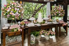 Miniwedding: mesa de doces