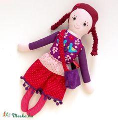 Ribiszke - öltöztethető Miaszösz nagylány, Játék, Baba-mama-gyerek, Baba…