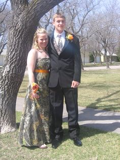 Camo Prom Dress for Brandon's prom this coming April! maybe...?