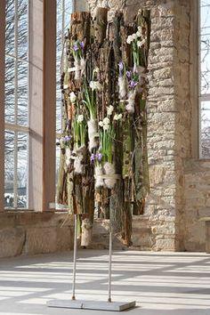 Prüfungsfrage für Floristen: Frühlingsraumschmuck in der Werkstückanalyse