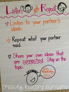 Creating Readers and Writers: 5 Anchor Charts to Support Reading Discussions Narrative Writing, Writing Skills, Teaching Reading, Teaching Kids, Teaching Resources, Teacher Expectations, Book Club Books, Book Clubs, Reading Buddies