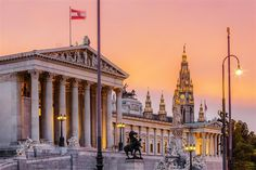 Tour di Vienna Austria, Great Photographers, Urban Photography, Town Hall, Vienna, Big Ben, In The Heights, Places To Visit, Europe