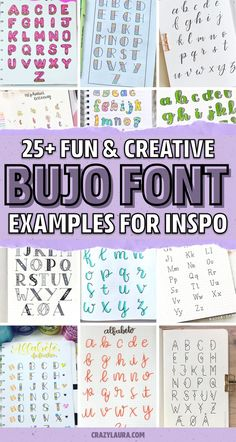 Bullet Journal Topics, Bullet Journal Headers, Journal Fonts, Bullet Journal Printables, Bullet Journal Lettering Ideas, Bullet Journal Writing, Bullet Journal Spread, Bullet Journal Layout, Bullet Journal Ideas Pages
