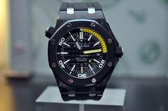 Audemars Piguet [NEW] Royal Oak Offshore Forged Carbon Diver Watch 15706AU.00.A002CA.01 - price on request!!