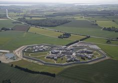 Designed by Danish architects C. Møller, the Storstrøm Prison design is being hailed for its strategic features that create a vibrant community for the inmates. Denmark, City Photo, Tourism, Community, How To Plan, World, Danish, Architects, Architecture