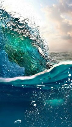 20 Ideas for wall paper phone sea colour Waves Wallpaper Iphone, Ocean Wallpaper, Nature Wallpaper, Wallpaper Backgrounds, Wallpaper Samsung, Wallpaper Desktop, Iphone Wallpapers, Ocean Photography, Amazing Photography