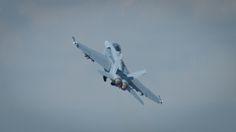 F18 Hornet at the Royal International Air Tattoo 2014