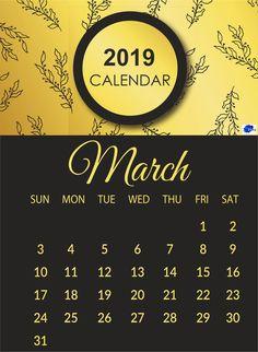 Cute March 2019 Calendar For Desktop March March2019