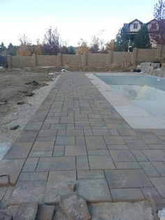 Belgard Pavers Around The Pool In Utah By Chris Jensen Landscaping.