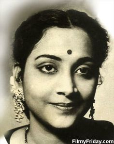 singers in india: Geeta Dutt Female Playback Singer of India Old Singers, Female Singers, Indian Actresses, Actors & Actresses, Bengali Song, Sound Film, Indian Goddess, Vintage Bollywood, Indian Bollywood