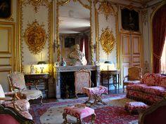 Chateau Interior | ... feature. The Château itself boasts lavish staterooms and interiors