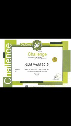 Armason winsGold medal for the second consecutive year at Challenge International du Vin!