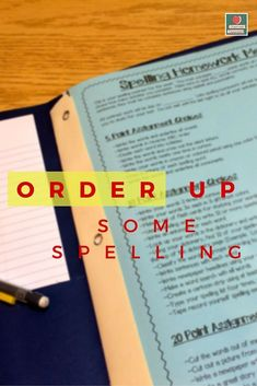 By assigning the spelling homework on Monday, it allows families who have sports or family emergencies to work on it throughout the week. Freebie included! Spelling Homework Menu, Grade Spelling, Teaching Jobs, Teaching Kindergarten, Teaching Ideas, Teacher Freebies, Classroom Freebies, Classroom Ideas, Guided Reading Lesson Plans