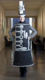 Clarinet costume. Am I enough of a nerd that I would do this? I think yes.