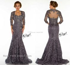 2015 Fall Mother Of The Bride Dresses Beading 3/4 Long Sleeve Applique Lace Mermaid Vintage Evening Dresses Lace Mother Dress for Wedding Online with $131.04/Piece on Sweet-life's Store | DHgate.com