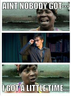 Sweet Brown likes Doctor Who