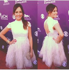 Kacey at the ACM Awards! Country Music Awards, Country Music Artists, Nashville Star, Singing Competitions, Tulle, Flower Girl Dresses, American, Wedding Dresses, Fashion