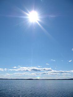 Höytiäinen in summer time, Finland