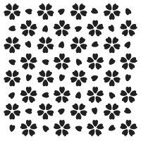Stencil  Cherry Blossom Japanese Series by FabricImagery on Etsy, $5.50  Sweet!  Now I can stop practicing drawing/painting flowers!!