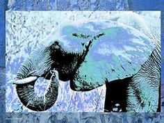Abstract Elephant Painting - Bing Images