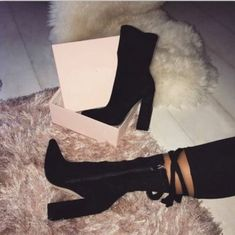womens short boots Classic Pointed Toe High Heel Ankle Bootie - Boot Heels - Ideas of Boot Heels - women's short boots Classic Pointed Toe High Heel Ankle Bootie High Heel Boots, Heeled Boots, Bootie Boots, Shoe Boots, Shoes Heels, Ankle Boots, Flats, Bootie Heels, Jeans Shoes
