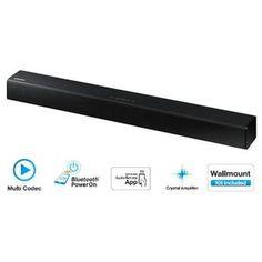 SAMSUNG HW-J250 Barre de son 80W 2.2Ch Bluetooth - Puissance totale de sortie 80W - Nombre de canaux 2.2 Ch - Impédence / fréquence : 10%/4Ω/1KHz ...