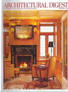 Architectural Digest February 2005