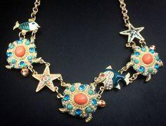 Dámsky náhrdelník BJ oceán v inzercii www.predavajmodu.sk