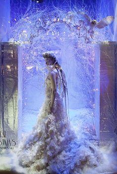 A Crystal Christmas, ispirazione di Swarovski Elements perHarrods2
