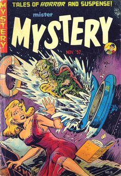 Mister Mystery #8, November 1952