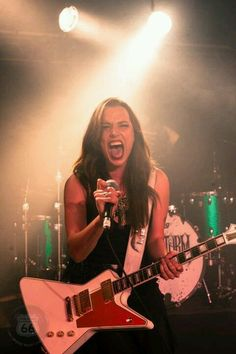 one of the most amazing women out there. Lzzy Hale.