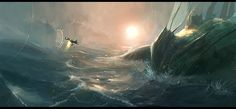 sea monster by JimHatama.deviantart.com