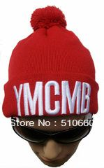 68acf3d5b45 20pcs lot Cheap YMCMB Pom Pom Beanie Hats For Women and Men 100% Acrylic on  AliExpress.com.  120.00