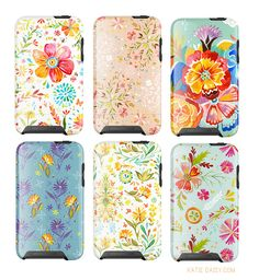 Katie Daisy iPod/iPhone cases... coming soon!?