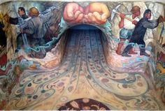 El mural de Diego Rivera que estuvo 40 años bajo el agua - Grupo Milenio