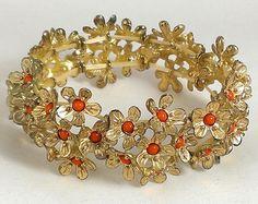 Bohemian Chic Cuff Bracelet Set Geometric by ArtisanalVintage