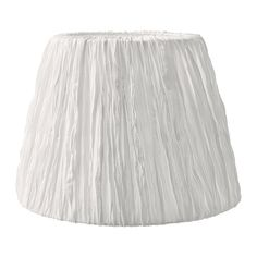 IKEA - HEMSTA, Lamp shade, Create your own personalised pendant or floor lamp by combining the lamp shade with your choice of cord set or base.</t><t>You can create a soft, cosy atmosphere in your home with a textile shade that spreads a diffused and decorative light.</t><t>The shade is easy to keep clean because the fabric is machine washable.