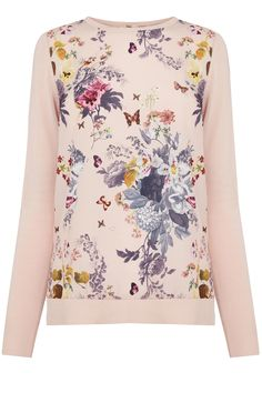 Savage Beauty Woven Front Top