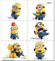 Despicable Me2 Minion Tattoos