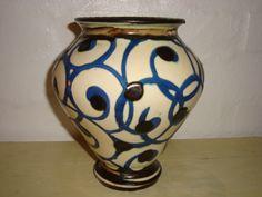 KÄHLER. År ca./year about 1920s #klitgaarden #hermanakähler #kähler #vintagekähler #HAK #danishdesign #danishceramics #danishpottery #danskkeramik #vase SOLGT/SOLD on www.klitgaarden.net..