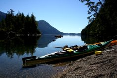 Ocean Kayaking in Clayoquot Sound.  Clayoquot Wilderness Resort  www.wildretreat.com