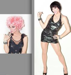 Spokesmodel Search Contest // Category: DRAG - Rock Star Wigs