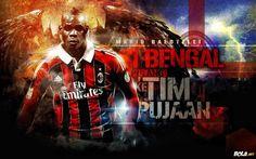 Mario Balotelli AC Milan Wallpaper HD 2013