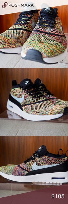 Nike Air Max Thea Ultra Flyknit Your go-to favorite Nike Thea is back and · Black  Nike ShoesBlack ... 1b6967d376f