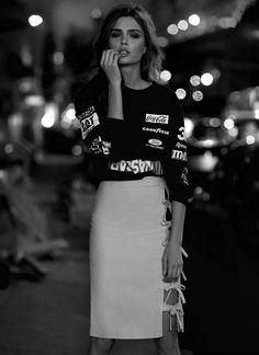 Josephine Skriver for Elle Brazil, January 2014.