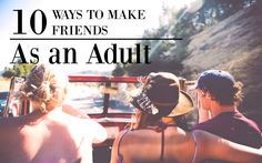 After college, a couple things might have happened to us. One, we looked around and realized that the friends we were so…