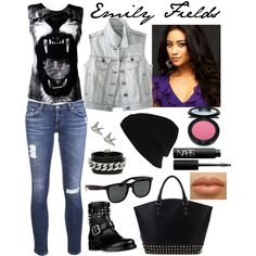 Emily Fields style from PLL